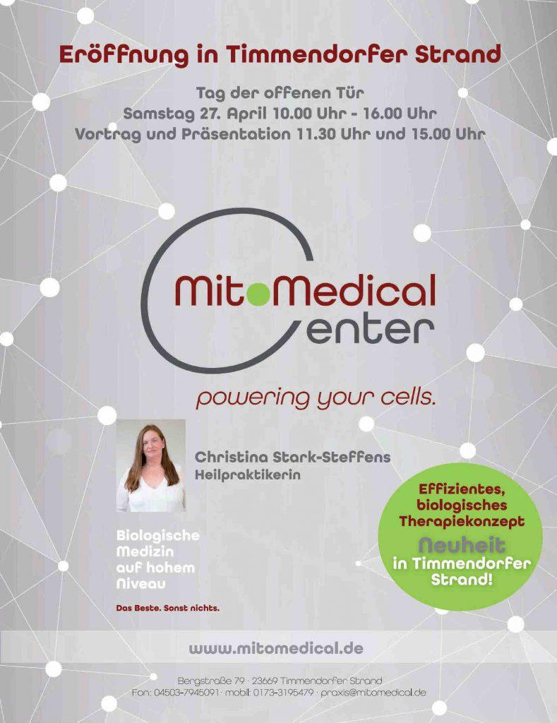 Eröffnung und Tag der offenen Tür MitoMedical Center Timmendorfer Strand